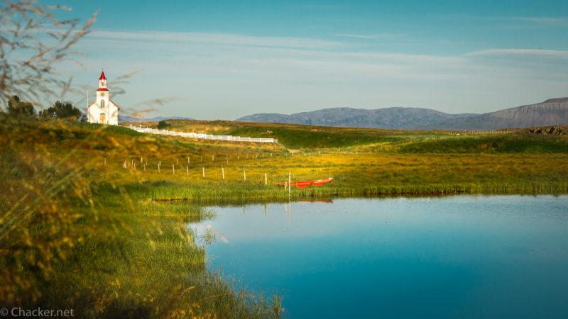 Helgafell – der heilige Berg