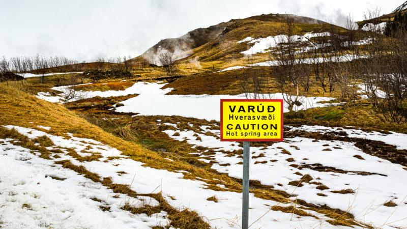 Hotspring path / Hveragerði