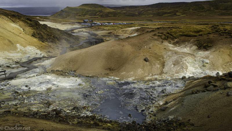 Geothermalgebiet Krýsuvík / Seltún